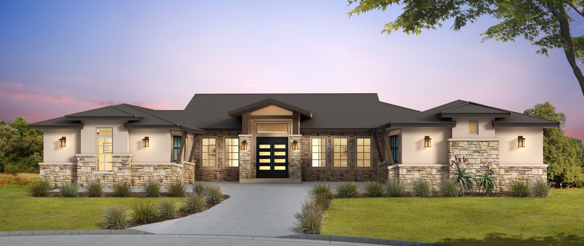 Hill country plans architectural designs for Texas hill country home designs