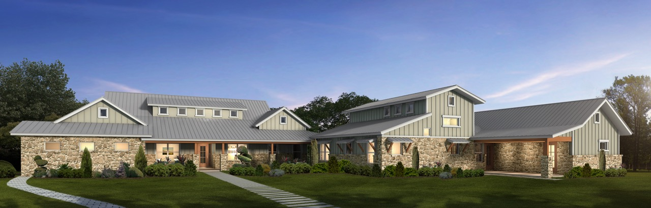Sprawling hill country home with two bedroom in law for Modular homes with inlaw apartments