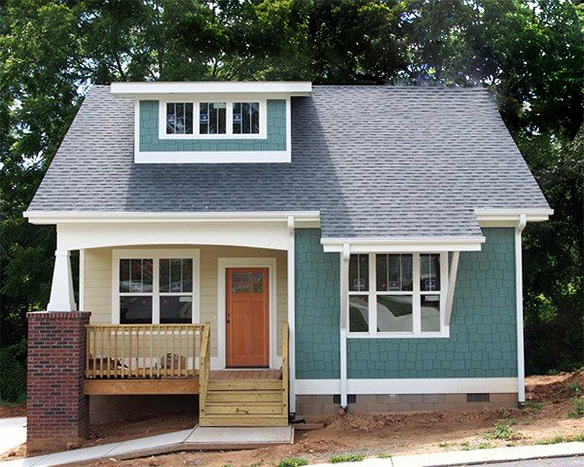 Efficient bungalow with main floor master 50114ph for Efficient house plans