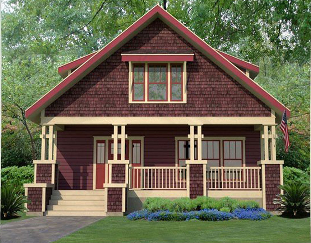 Rustic Bungalow House Plan - 50138PH