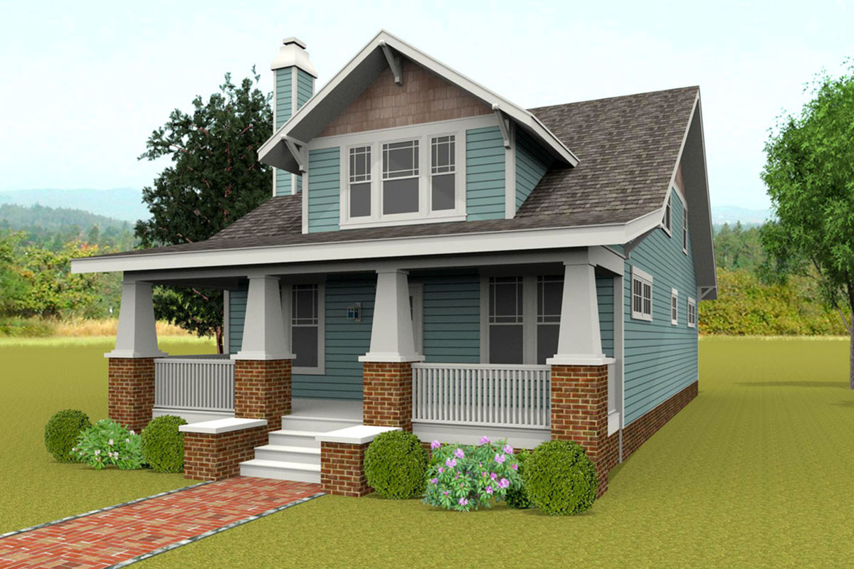 Classic Craftsman House Plan With Options