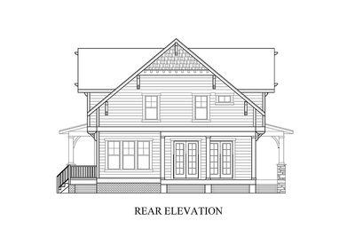 Craftsman with WrapAround Porch 500015VV – House With Wrap Around Porch Floor Plan