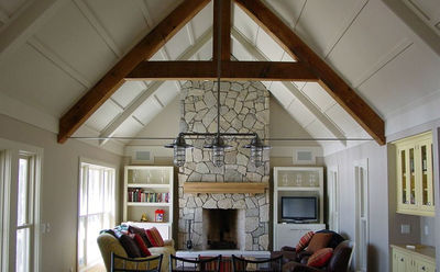 Mountain Retreat with Vaulted Great Room 970003VC Architectural
