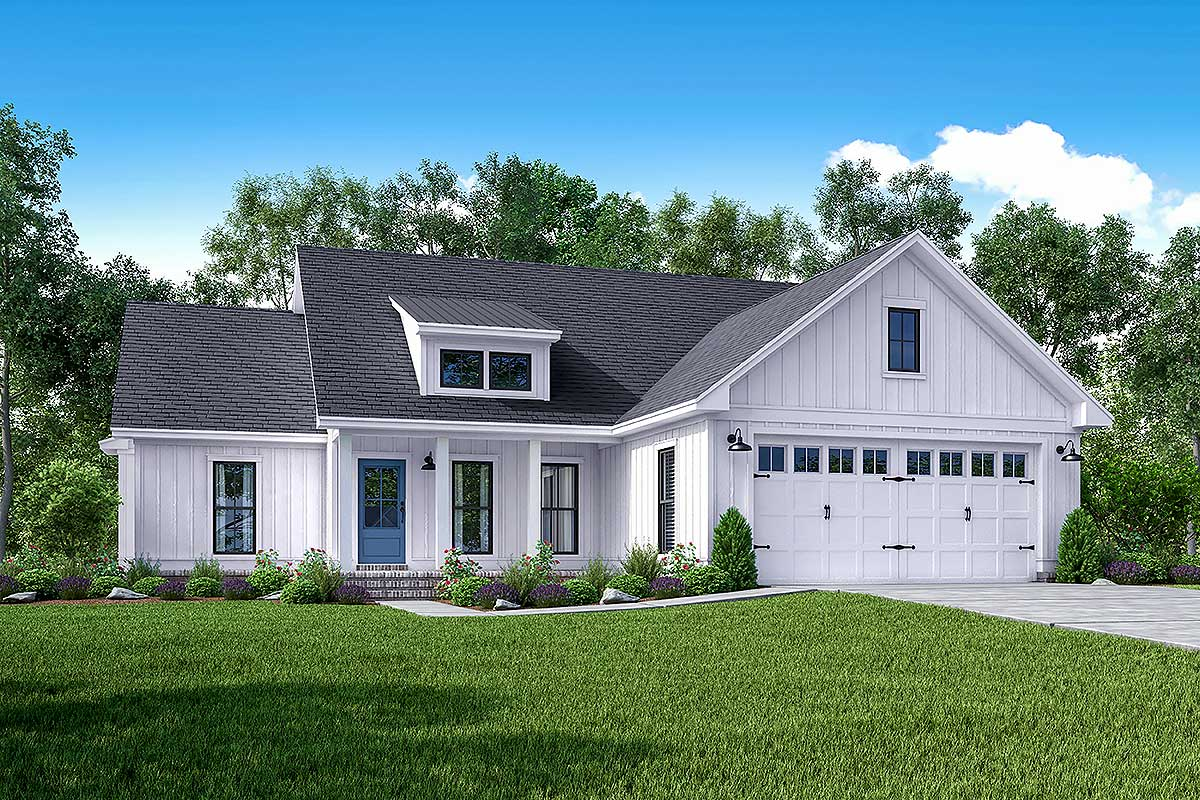 Exclusive 3 bed farmhouse with tremendous curb appeal for Farmhouse bed plans