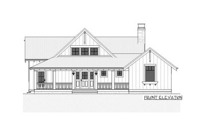 Charming Country House Plan with Finished Lower Level - 970047VC thumb - 02
