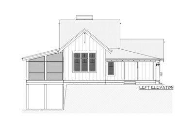 Charming Country House Plan with Finished Lower Level - 970047VC thumb - 03