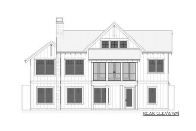 Charming Country House Plan with Finished Lower Level - 970047VC thumb - 04