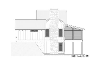 Charming Country House Plan with Finished Lower Level - 970047VC thumb - 05
