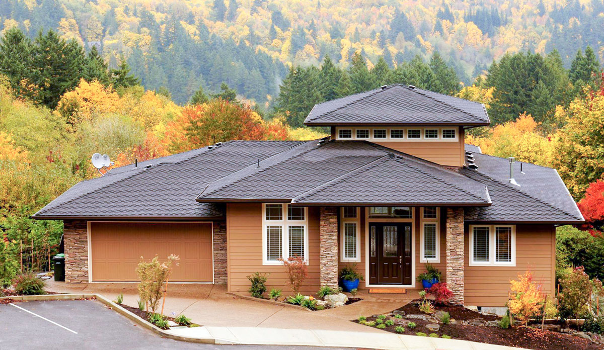 3-Bed Prairie Style House Plan With Clerestory Windows