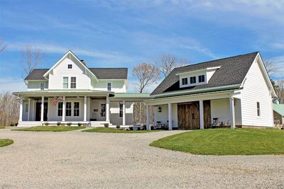 Quintessential American Farmhouse with Detached Garage and ...