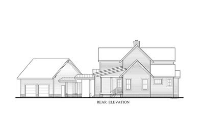 Quintessential American Farmhouse with Detached Garage and Breezeway - 500018VV thumb - 19
