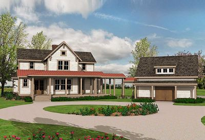 Quintessential American Farmhouse with Detached Garage and Breezeway - 500018VV thumb - 16