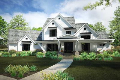 Exciting Farmhouse House Plan With Game Room WG - Farmhouse house plans
