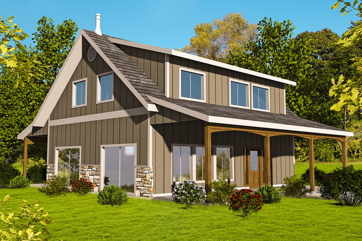 Northwest house plan with craft room 35552gh for Northwest home designs
