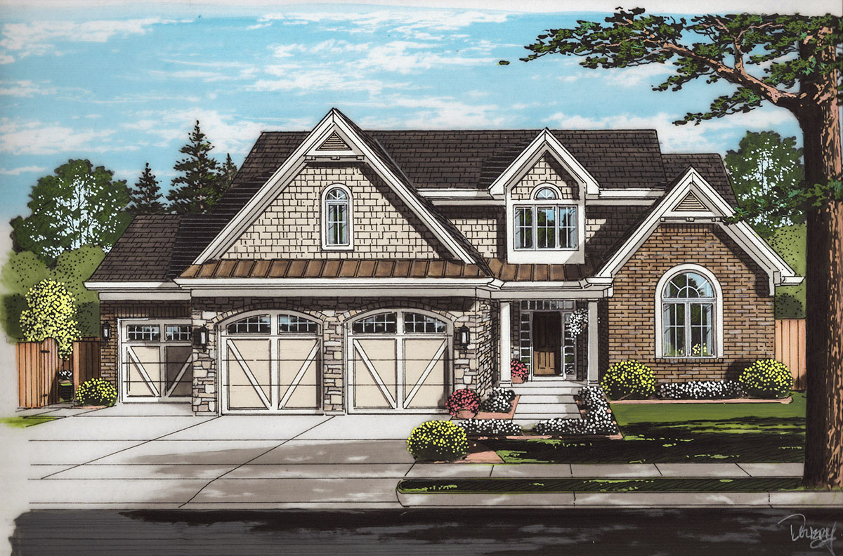 Well Designed Traditional House Plan 39260st Architectural Designs House Plans