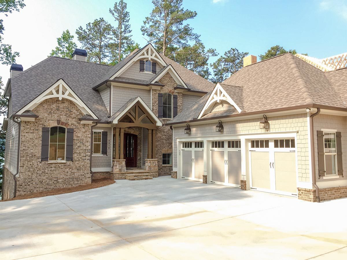 Luxury craftsman house plan 24370tw architectural for Luxury craftsman homes