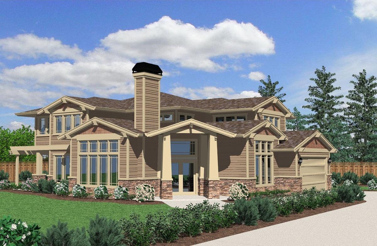 Unique Craftsman House Plan 85186ms Architectural