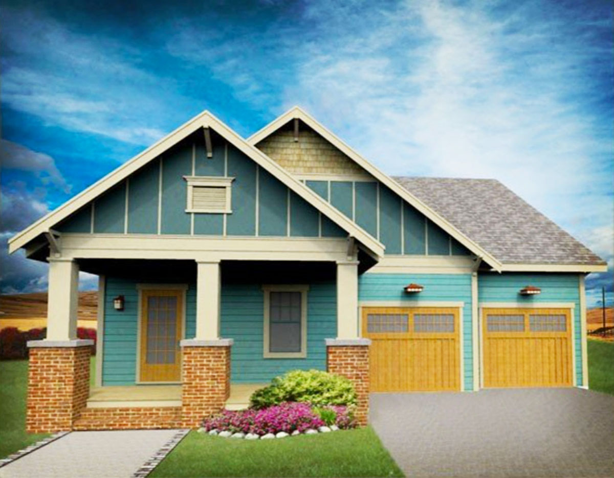 Northwest Bungalow With First Floor Master