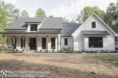 Modern Farmhouse Plan 51766HZ comes to life in Georgia - photo 002