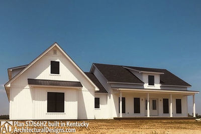 Exclusive Modern Farmhouse Plan 51766HZ comes to life in Kentucky - photo 003