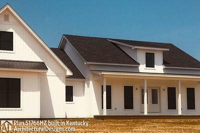 Exclusive Modern Farmhouse Plan 51766HZ comes to life in Kentucky - photo 005