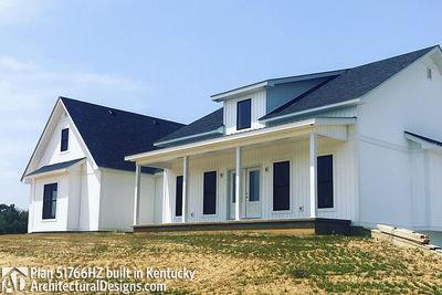 Exclusive Modern Farmhouse Plan 51766HZ comes to life in Kentucky - photo 004