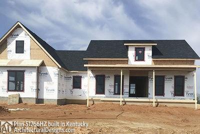 Exclusive Modern Farmhouse Plan 51766HZ comes to life in Kentucky - photo 008