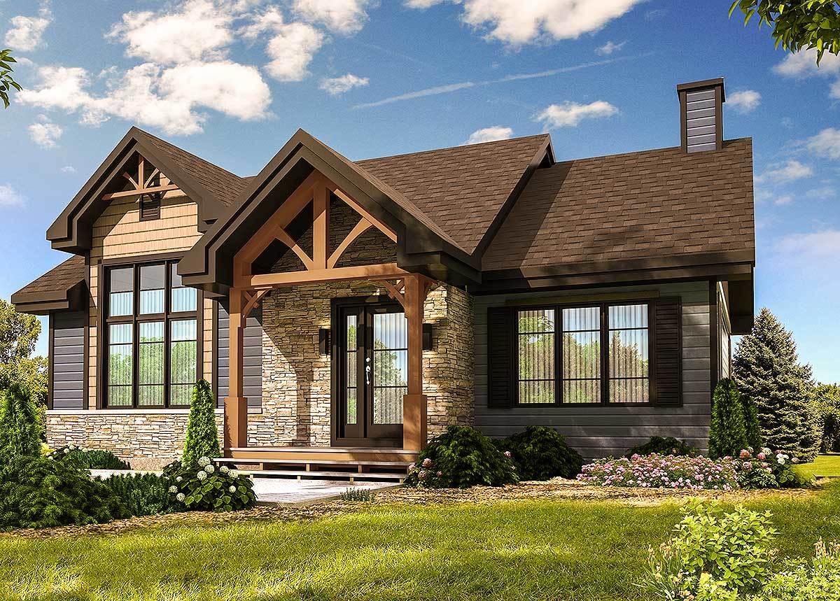 Modern Craftsman with Optional Finished Lower Level ...