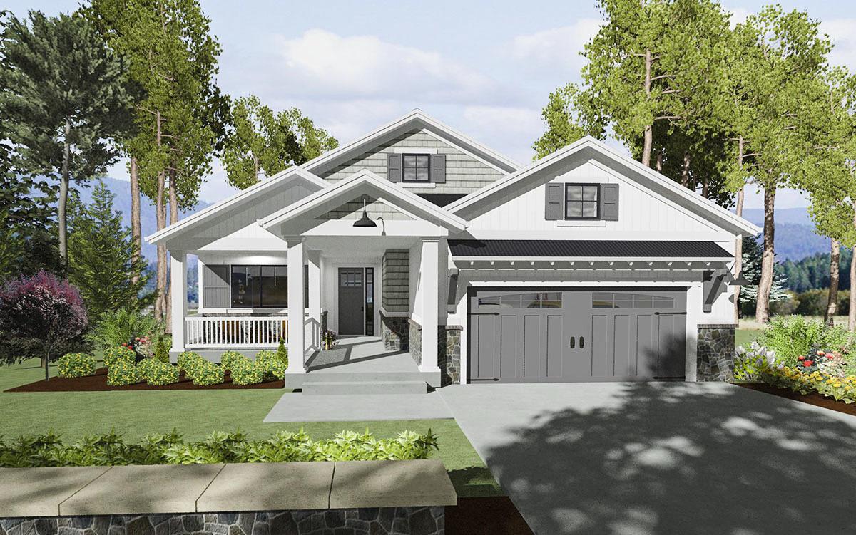 Expandable bungalow house plan 64441sc architectural for Architectural designs for bungalows