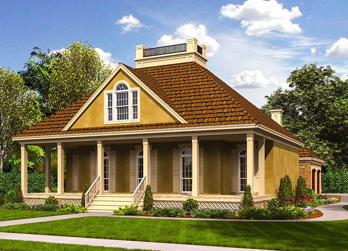 efficient small home plans compact and efficient southern house plan 55190br architectural designs house plans 3349