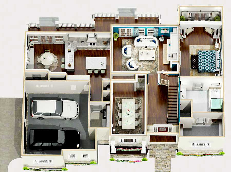 Exclusive Traditional House Plan with Loft and Optional Bonus Room ...