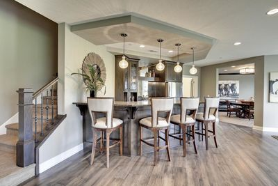 Exciting Craftsman House Plan with Finished Two-Story Sports Court - 73373HS thumb - 92