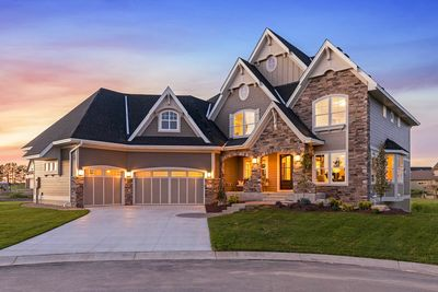 Exciting Craftsman House Plan with Finished Two-Story Sports Court - 73373HS thumb - 03