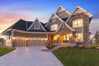 Exciting Craftsman House Plan with Finished Two-Story Sports Court - 73373HS thumb - 02