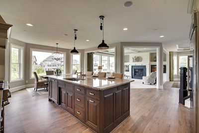 Exciting Craftsman House Plan with Finished Two-Story Sports Court - 73373HS thumb - 47