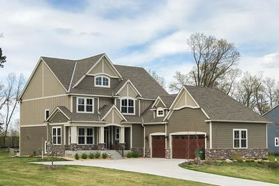 Exclusive Five Bedroom Craftsman with Sports Court Included - 73374HS thumb - 01