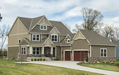 Exclusive Five Bedroom Craftsman with Sports Court Included - 73374HS thumb - 02