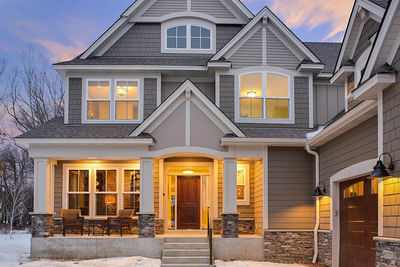 Exclusive Five Bedroom Craftsman with Sports Court Included - 73374HS thumb - 06