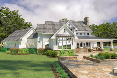 Flexible Farmhouse with Loads of Outdoor Living - 16898WG thumb - 10
