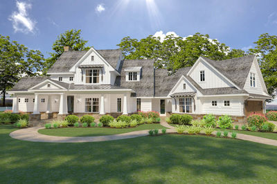 Flexible Farmhouse with Loads of Outdoor Living - 16898WG thumb - 01