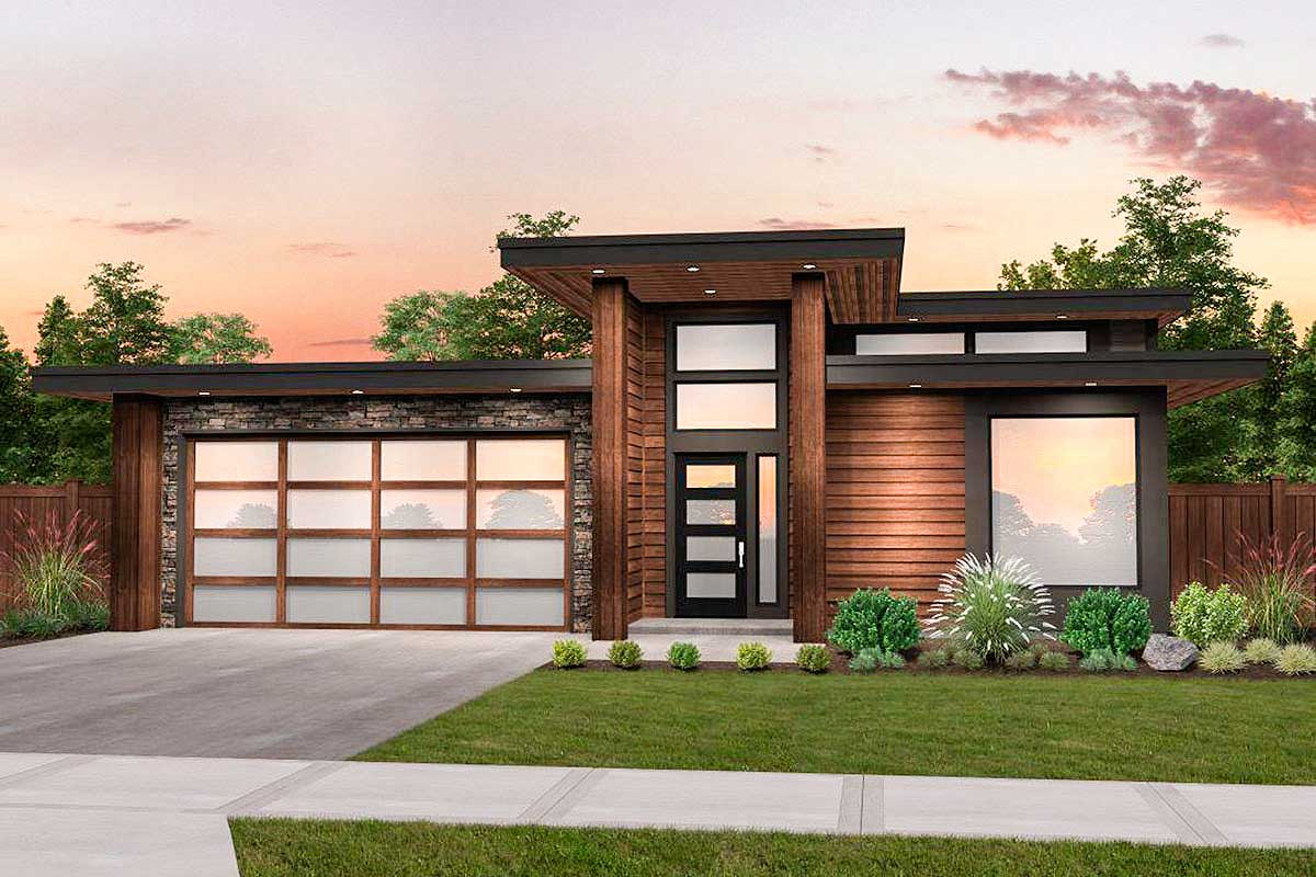 Modern House Plan With 3 Beds And Casita Makes 4