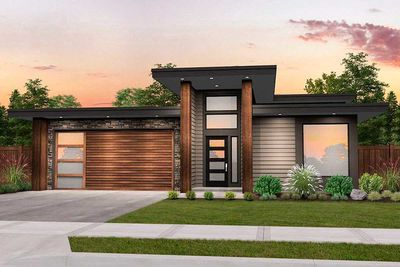 Modern House Plan with 3 Beds and Casita Makes 4 - 85198MS thumb - 02