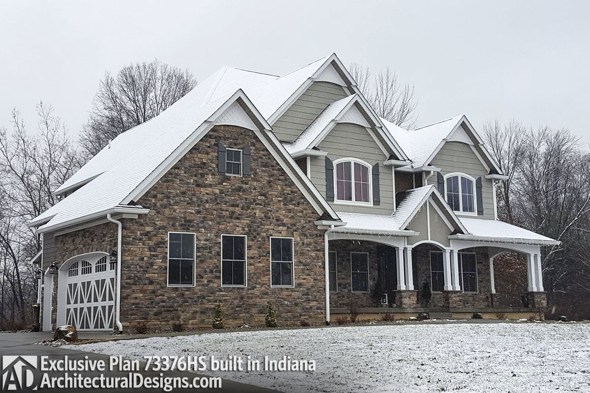 Exclusive House Plan 73376HS comes to life! - photo 001
