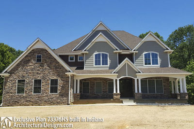 Exclusive House Plan 73376HS comes to life! - photo 005