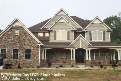 Exclusive House Plan 73376HS comes to life! - photo 004