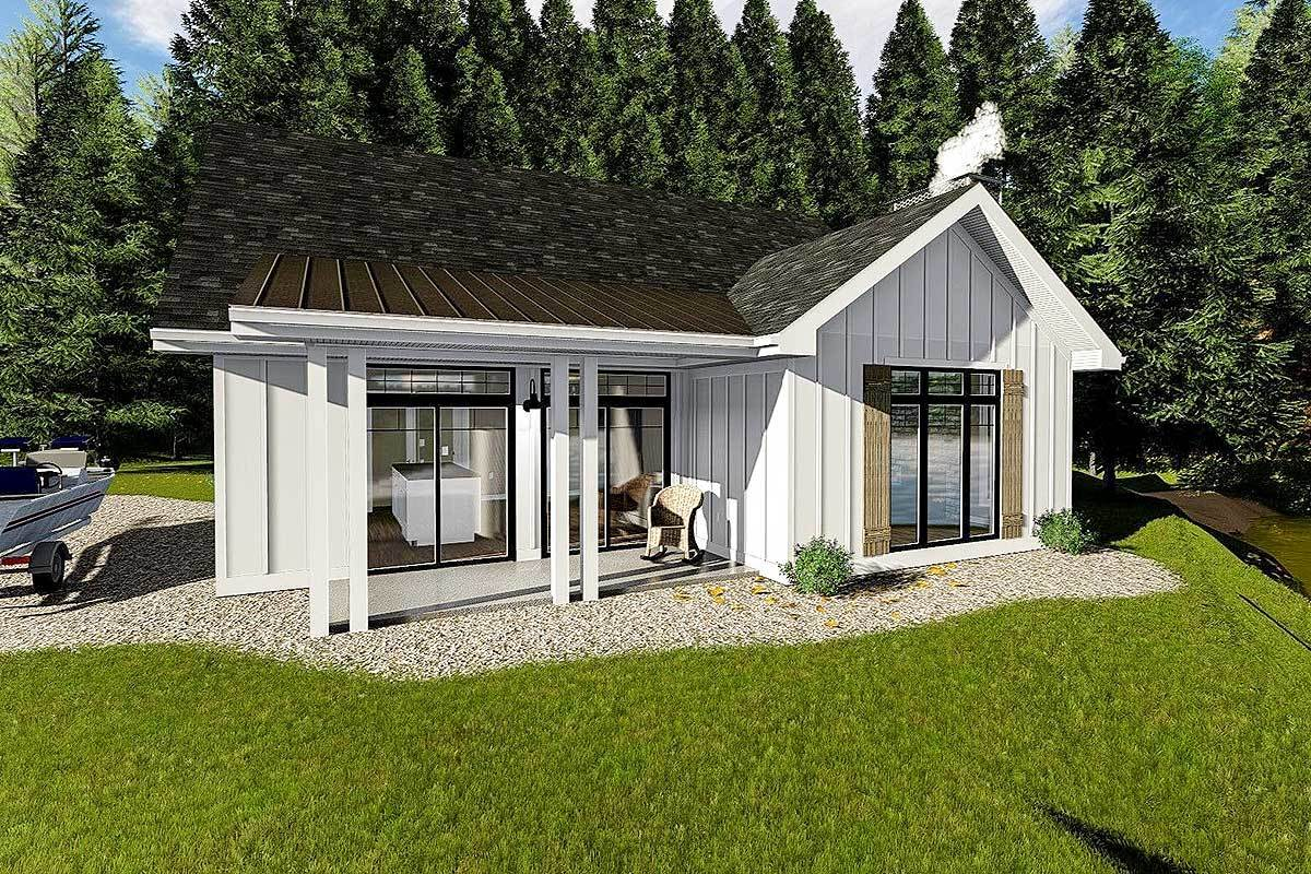 Cozy Cottage With Bunk Room 62712dj Architectural