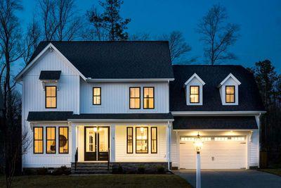 Simple 4 Bedroom Modern Farmhouse Plan 500022vv Architectural