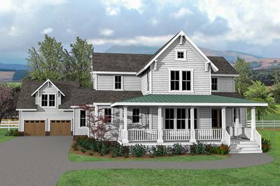 Charming And Exclusive Farmhouse House Plan Vv Thumb
