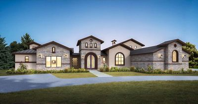 Hill Country Home Plans hill country home plan with outdoor entertaining space in back