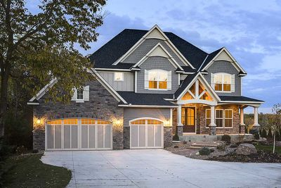 Modern Storybook Craftsman House Plan with 2-Story Great Room ...